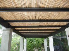 Retractable Pergola Roof DIY | Pergola Roofing Design Ideas: From the Natural to the Motorized
