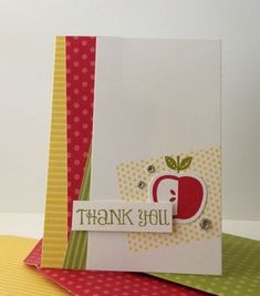 For a special teacher card by amy sheffer for papertrey ink april envelope punch maker perfectly preserved stampwithheather m4hsunfo