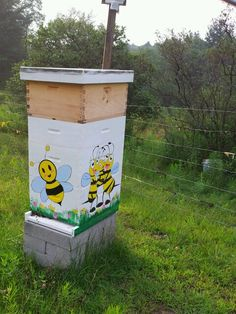 bee hives  :))