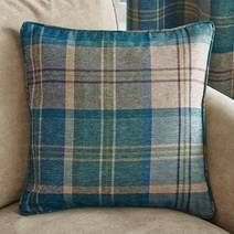 Teal Hamish Cushion