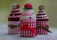 cupcakes feltro