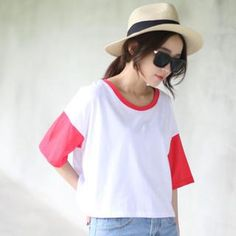 Buy 'Mini Jule – Short-Sleeve Contrast-Color T-Shirt' with Free Shipping at YesStyle.com.au. Browse and shop for thousands of Asian fashion items from Taiwan and more!