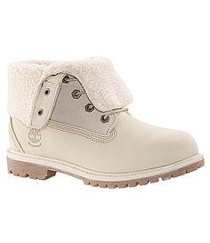 Timberland Womens Teddy Fleece FoldDown Waterproof Boots  Dillards Custom  Timberland Boots 17ffc9ce3