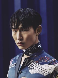 Men's Folio - March 2016 / Model: Sang Woo Kim