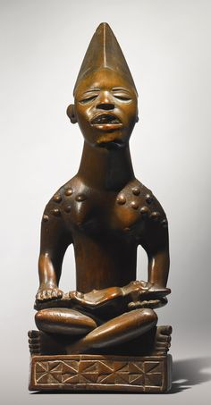 Kongo-Yombe Maternity Figure (Phemba), Democratic Republic of the Congo | Lot | Sotheby's