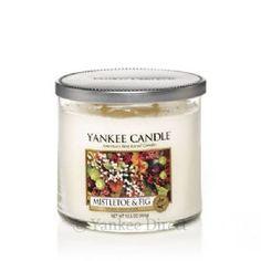 Yankee Candles UK | Yankee Candle Mistletoe and Fig Medium Tumbler