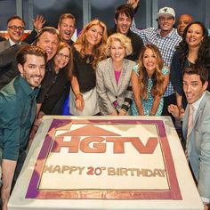 Love this group! Happy 20th birthday @HGTV! Property Brothers, Happy 20th Birthday, Man On Fire, Jonathan Silver Scott, Great Scott, Scott Brothers, Identical Twins, Man Alive, Gorgeous Men
