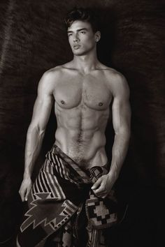 """"""" Male Images in Black and - January The Daily Drool, Hot, Sexy and Shirtless """"Pubic Hair too"""" """" Man Se, Look At My, Vogue Brazil, Hommes Sexy, Poses, Male Beauty, Male Body, Cute Guys, Gorgeous Men"""