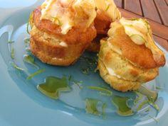 Lemon and lime tiramisu with caramel sauce