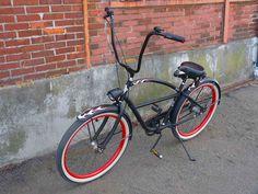 Electra Rat Rod bike with ape hangers