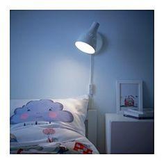SNÖIG Lampa ścienna, biały - - - IKEA