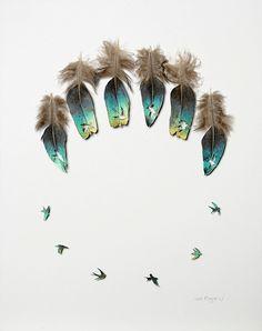 Chris Maynard: El arte de esculpir plumas