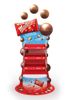 maltesers Stand on Behance