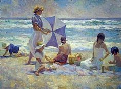 Summer Moment by don hatfield Oil on Linen ~ 18 x 24