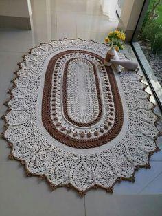 Cap to #Crochet mit Blattzöpfen und 3D-Blume im tunesischen Stich #Tejido