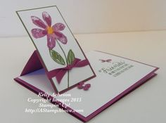 Pretty Easel Card by Technique_Freak - Cards and Paper Crafts at Splitcoaststampers