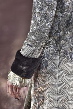 Guo Pei, Paris.  #fur #fashion #hautecouture #AW16