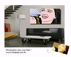 Personalização da foto, pôster e moldura