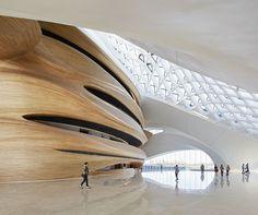 Opera house in Harbin China Futurism Architecture, Architecture Details, Interior Architecture, Opera House Architecture, Organic Architecture, Zaha Hadid, Amazing Buildings, Modern Buildings, Neo Futurism