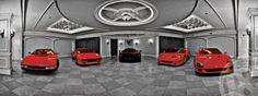 Ferrari Collection at Mansion in Delray Beach Florida 01
