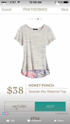 You're going to love Stitch Fix! A Stylist sends hand-selected fashion to your door & shipping is free. Learn more! https://www.stitchfix.com/referral/4020367