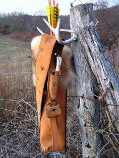 .:: Johnson Leathercraft ::. » Traditional Archery Quivers