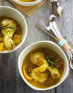 """Het lekkerste recept voor """"Mediterraanse kip met citroen"""" vind je bij njam! Ontdek nu meer dan duizenden smakelijke njam!-recepten voor alledaags kookplezier!"""