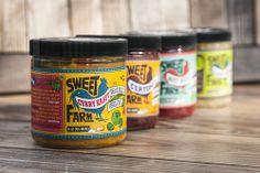 Sweet Farm Sauerkraut via @The Dieline