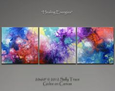 Geometric Art Giclee Prints from my Abstract by SallyTraceFineArt