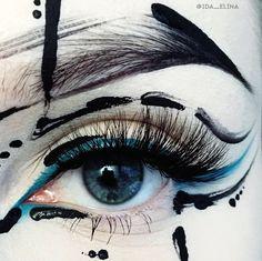 - Makeup Looks Yellow Eye Makeup Art, Eye Art, Makeup Inspo, Makeup Inspiration, Beauty Makeup, Crazy Makeup, Cute Makeup, Makeup Looks, Make Up Art