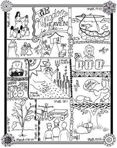 Leaven Bread Parable Kids Korner BibleWise Nouveau Testament
