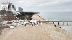 Besuch des Winterstrandklubs in Timmendorfer Strand. Sgtellplatzeindrücke vom Wohnmobilpark in Scharbeutz. Winter, Beach, Travel, Outdoor, Holiday Destinations, Baltic Sea, Winter Time, Outdoors, Viajes