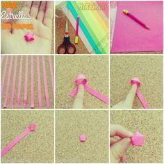 Aprende a hacer estrellas de papel Cheerfulcraft