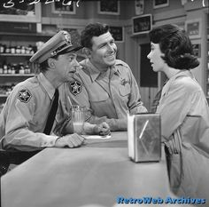 Don Knotts, Andy Griffith and Elinor Donahue