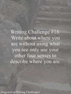 writing challenges | Dragonition