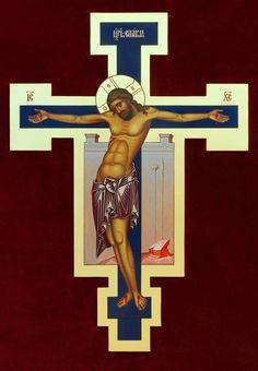 Revelations 10:8-10 Byzantine Icons, Byzantine Art, Religious Icons, Religious Art, Roman Church, Religion, Russian Icons, Holy Cross, I Icon