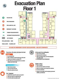 Welcome to Safetymap.com - building evacuation maps, evacuation plans, emergency signs, architectural signs, planning and design, safety training, OSHA compliance, risk assessment.