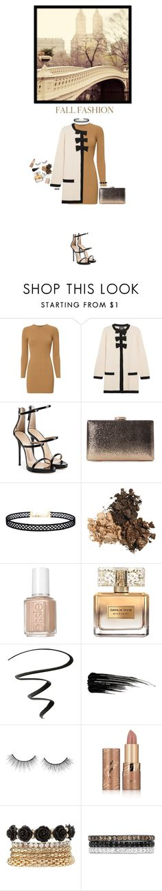 """""""× long sleeve dress ×"""" by black4ever ❤ liked on Polyvore featuring A.L.C., Boutique Moschino, Giuseppe Zanotti, LULUS, Essie, Givenchy, NYX, Urban Decay, tarte and Charlotte Russe"""