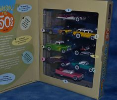 Hot Wheels Cruisin the 50's Special Edition 8 Car Set  #HotWheels