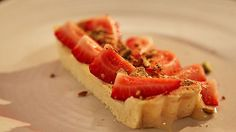 MKR4 Recipe - Strawberry Tart