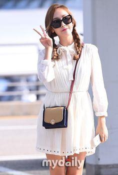 """【PHOTO】ジェシカ、単独ファンミーティングのためタイへ""""少女のような姿"""" - PHOTO - 韓流・韓国芸能ニュースはKstyle"""