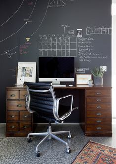 Chalk It Up. Vintage Office DecorHome ...