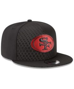 New Era San Francisco 49ers On Field Color Rush 9FIFTY Snapback Cap - Red Adjustable