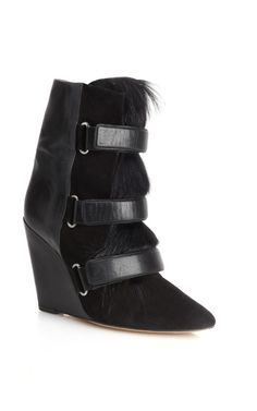 Isabel Marant Black Scarlet Boot