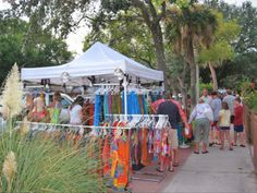 No better place for an arts/crafts festival than Gulfport, FL!