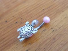 Belly button ring  Body Jewelry  Turtle Belly by ChelseaJewels, $12.00