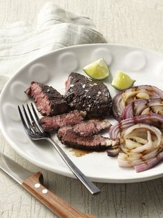 Brown Sugar Skirt Steak Recipe : Food Network Kitchens : Food Network - FoodNetwork.com