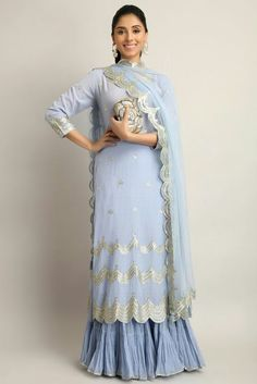 Latest trends in Beauty, Fashion, Indian outfit ideas, Wedding style on your mind? Indian Wedding Guest Dress, Indian Wedding Outfits, Indian Outfits, Wedding Dresses, Sharara, Anarkali, Lehenga, Salwar Kameez, Indian Attire
