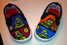 Baby TMNT shoes