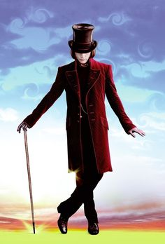 Johnny Depp, or rather, Willy Wonka ;)